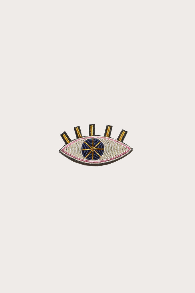 Pen Pal Pin in Eye