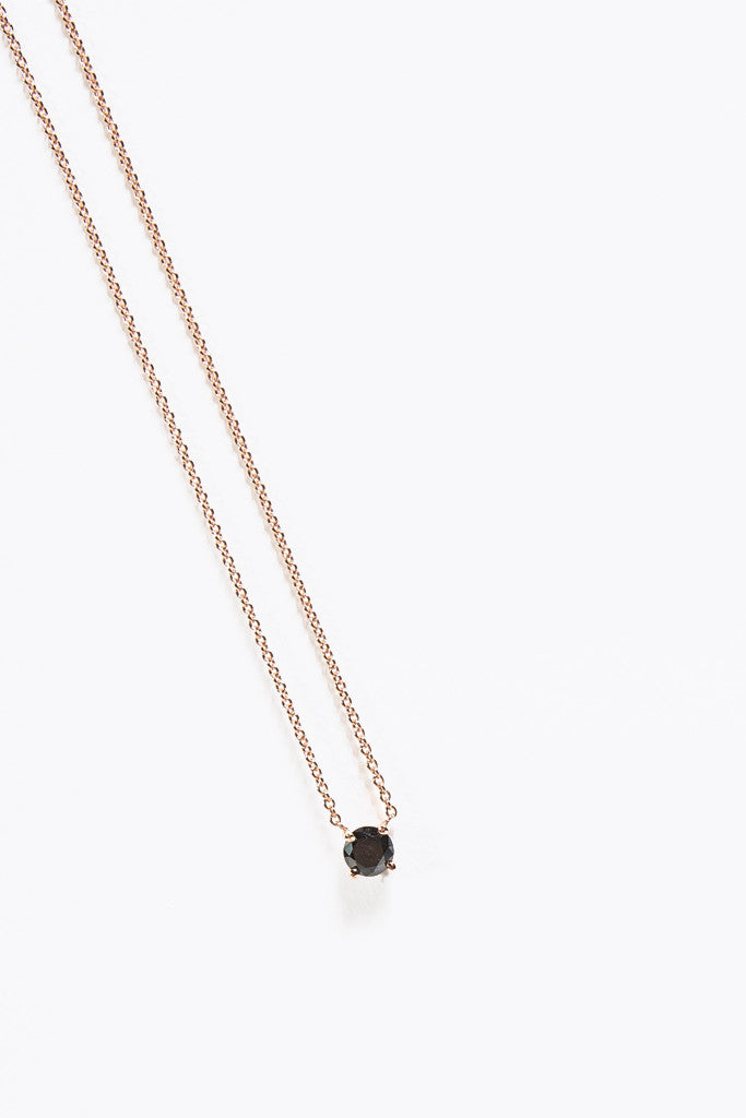Master Diamond Necklace, Rose/Black by Gabriela Artigas @ Kick Pleat - 1