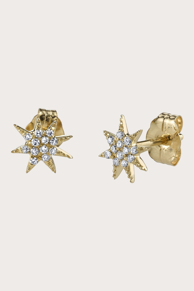 Gabriela Artigas - Pave Single Shooting Star Earring, Gold