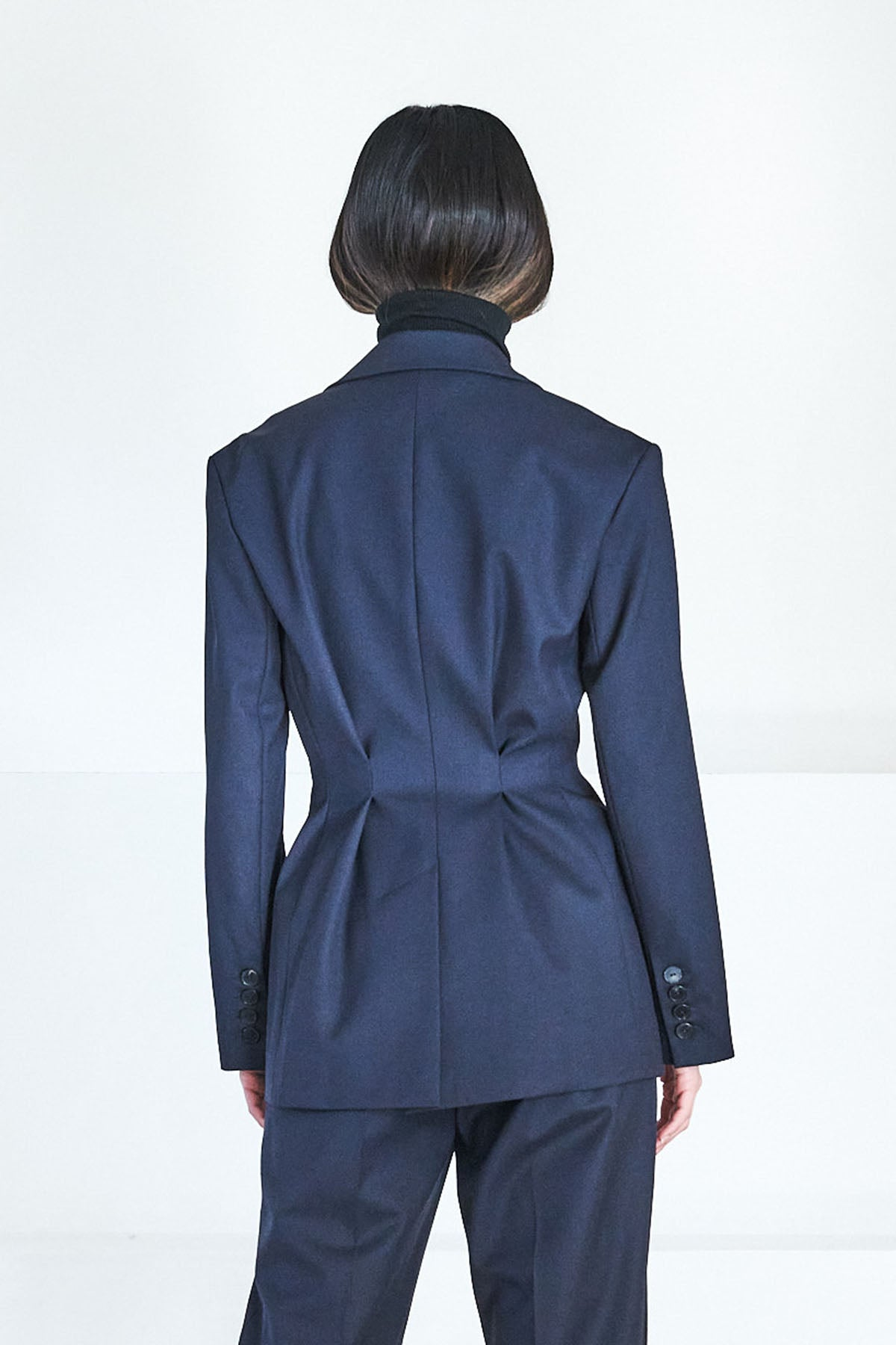 GAUCHERE - rachel jacket, dark blue