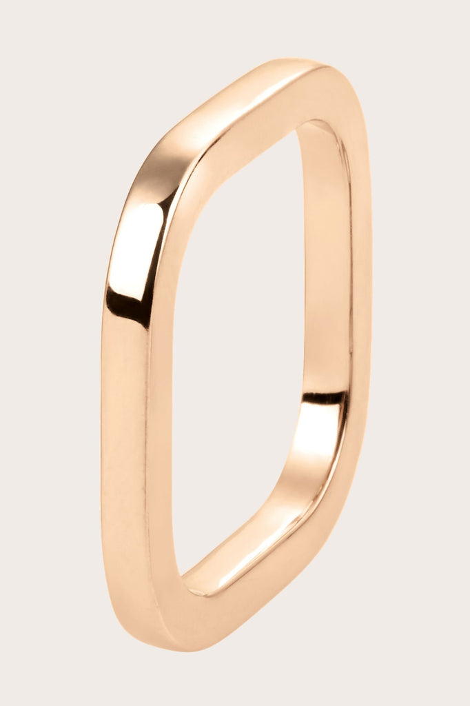Ginette NY - TV Ring, Rose Gold