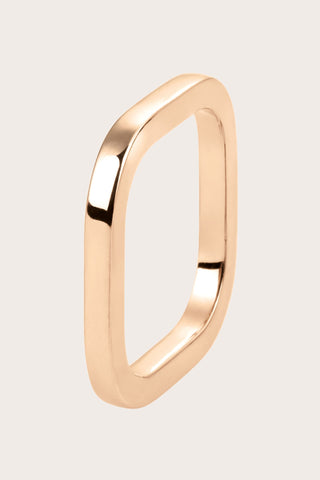 TV Ring, Rose Gold