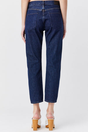 GOLDSIGN - Covell Low Slung Jean, Dark Indigo