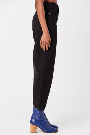 Goldsign - Curved Jeans, Black