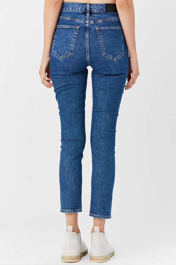 GOLDSIGN - High Rise Slim Jean, Moore