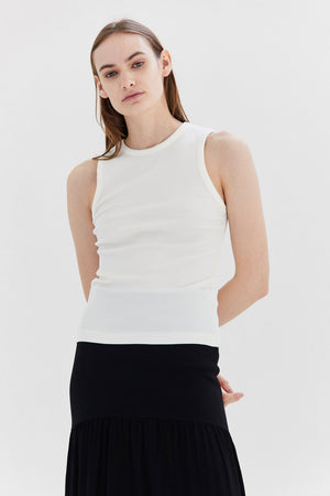 GOLDSIGN - Rib Nineties Tank, Ivory