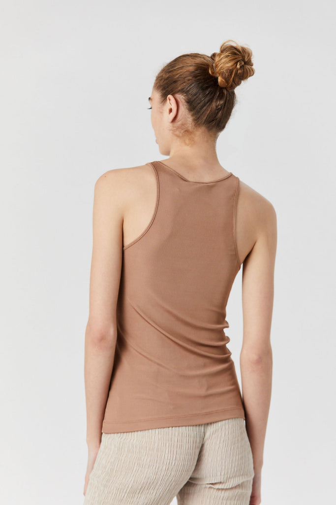 GOLDSIGN - U Neck Tank, Nude