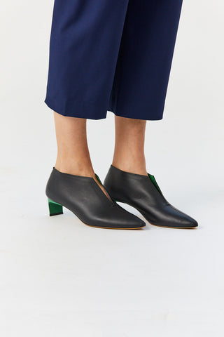 Puega Pump, Black & Green