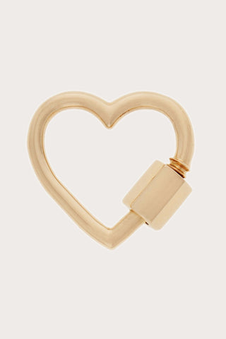 Heart Lock, Yellow Gold