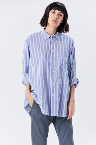 Elma Shirt, Blue Stripe