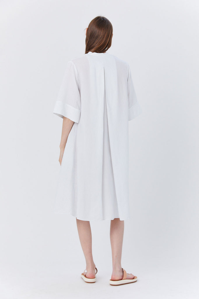 HOPE - Field Dress, White Stripe