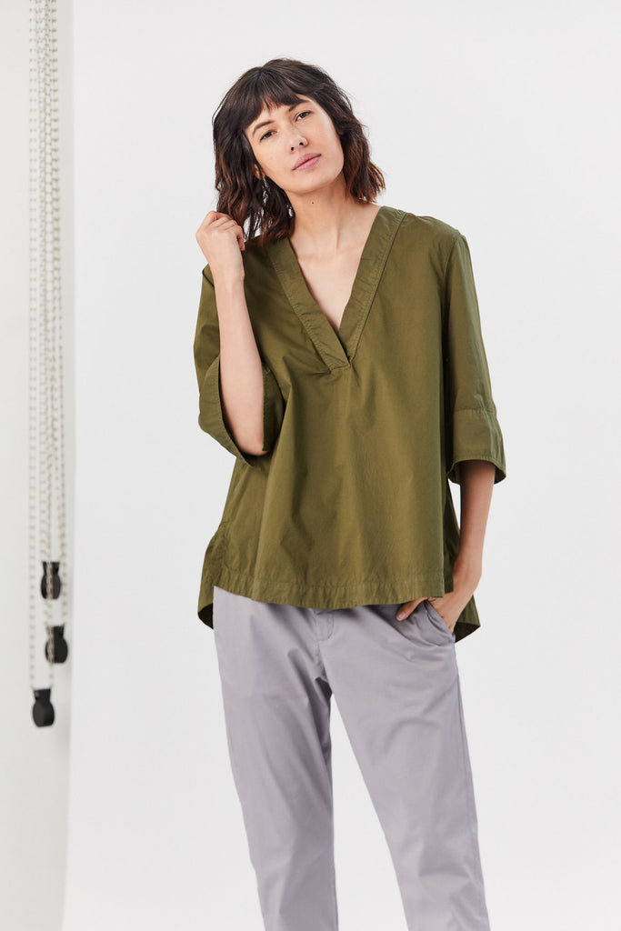Honest Shirt, Khaki Green