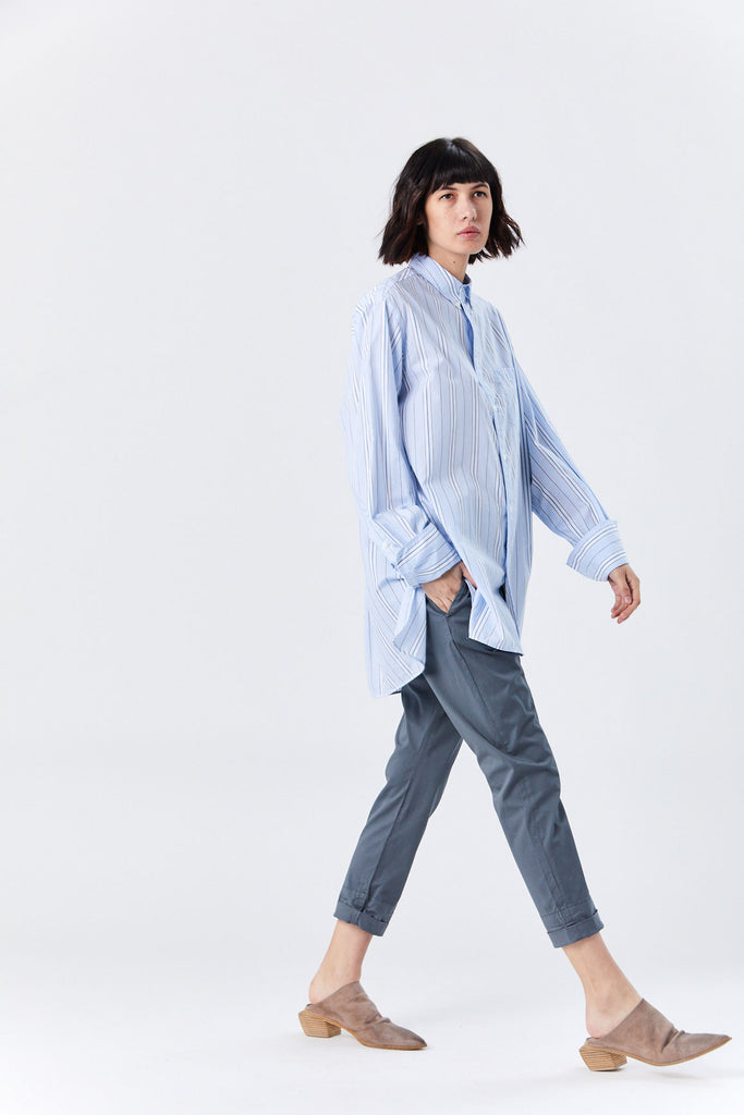 Hope - Vibe Shirt, Blue Stripe