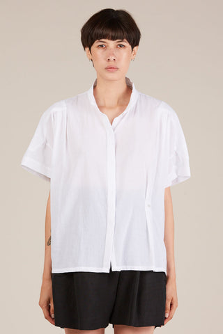 Hava s/s blouse, White
