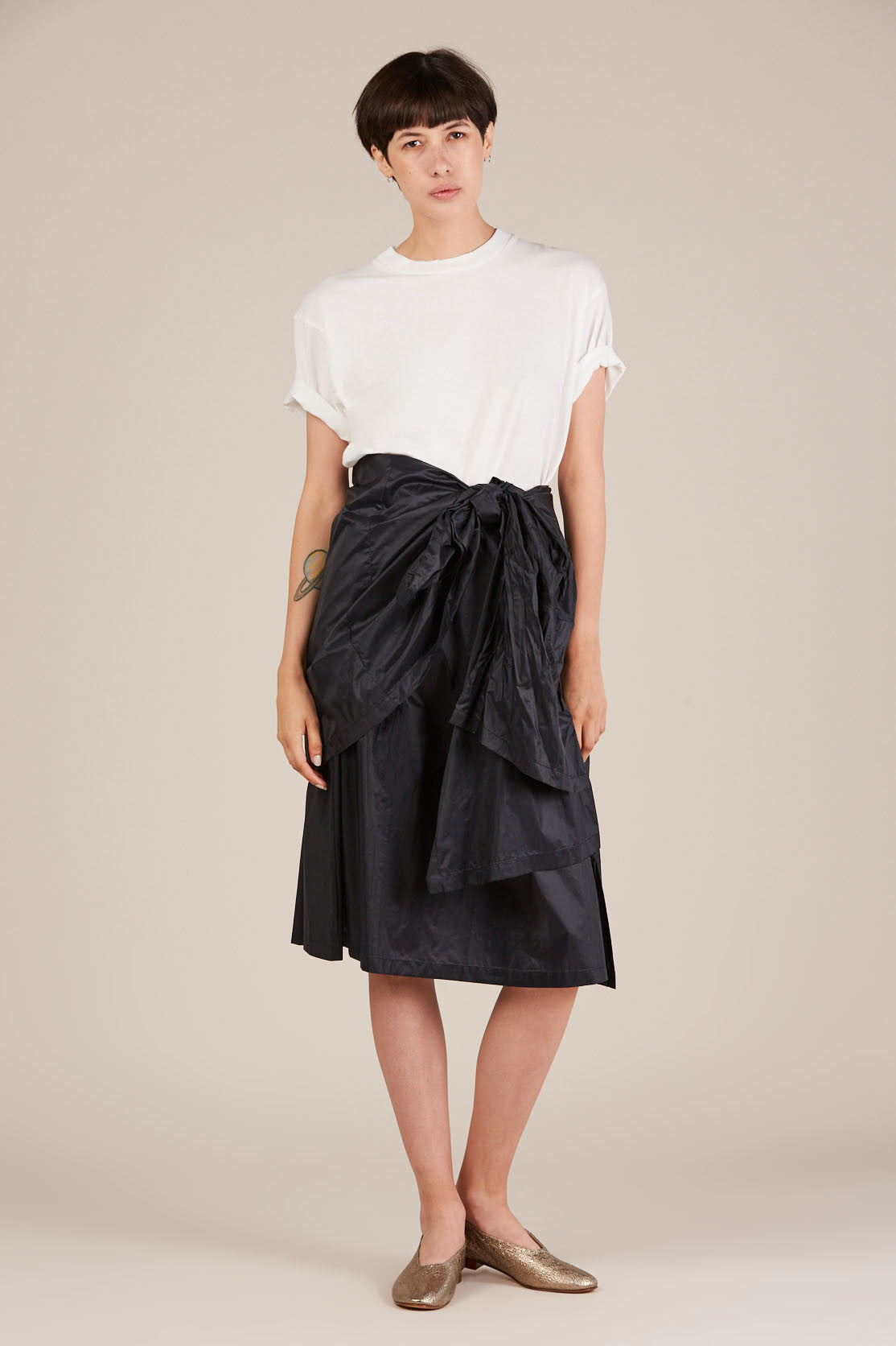 Peek tie Skirt Night by Humanoid