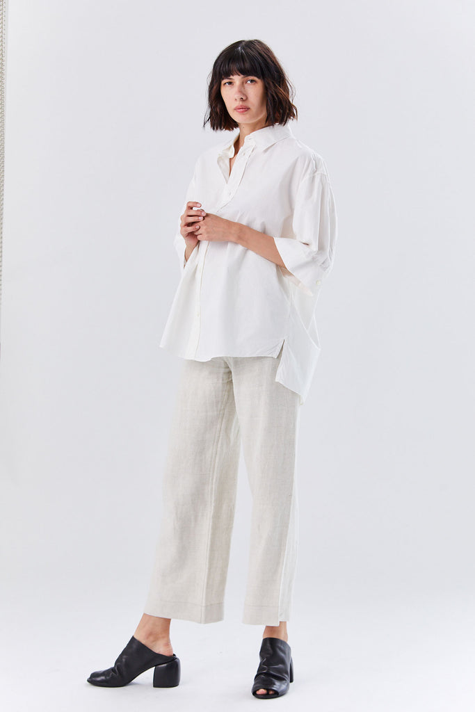 Heavy Linen Sailor Pant, Dune
