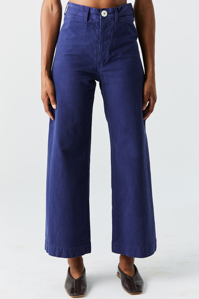 JESSE KAMM - Sailor Pant, Blue