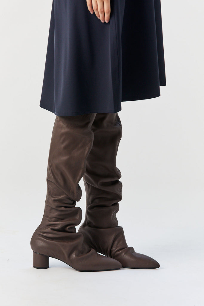 JIL SANDER - Tall Boots, Brown