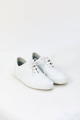 Leather Sneaker, White