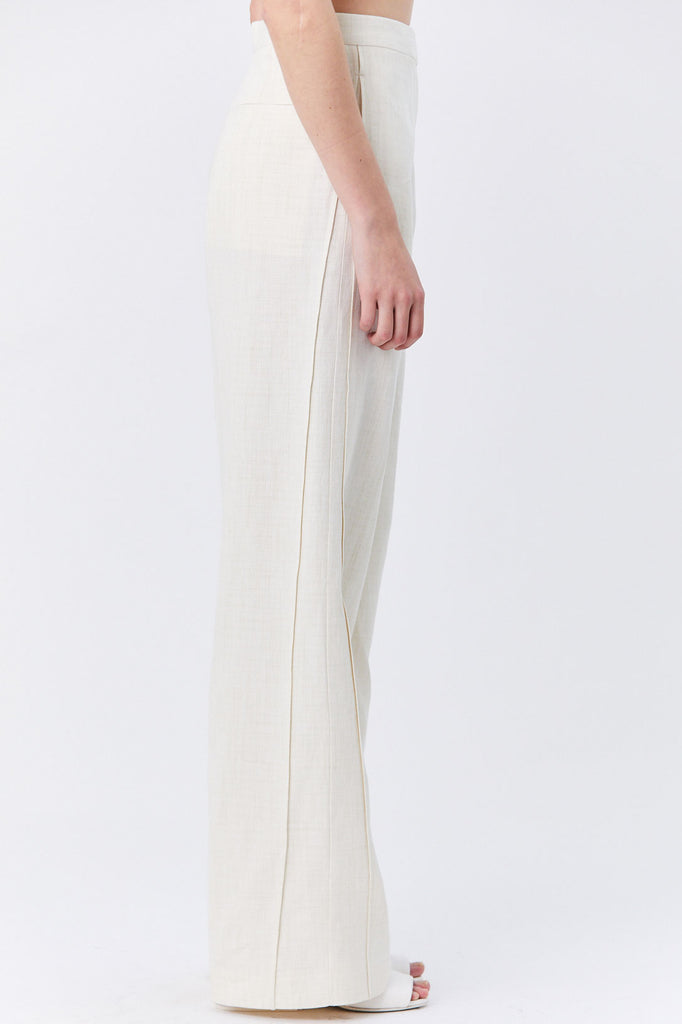 Jil Sander - Glenn Wide-Leg Pants, White