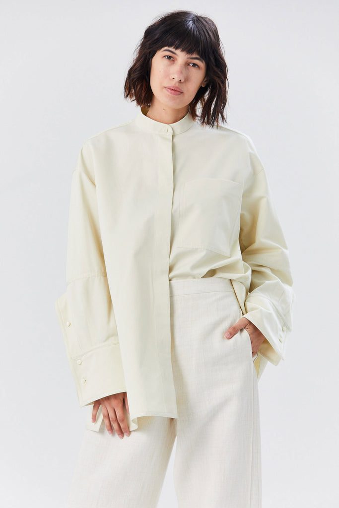 Gloria Shirt Jacket, Natural