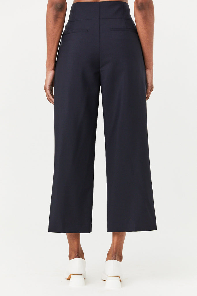 Jil Sander - Greg Short Woven Pants, Dark Blue
