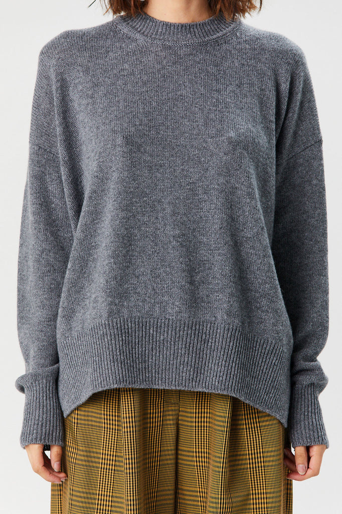 JIL SANDER - Sweater, Dark Grey