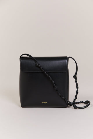 Tangle Flap Bag, Black