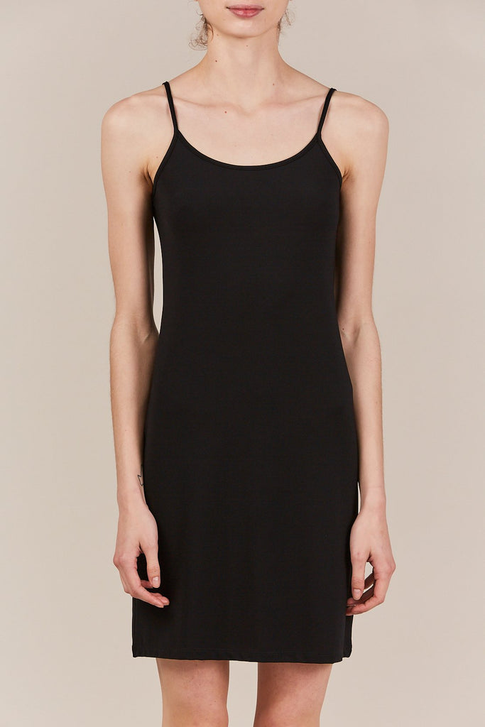 Jil Sander - tank dress, black