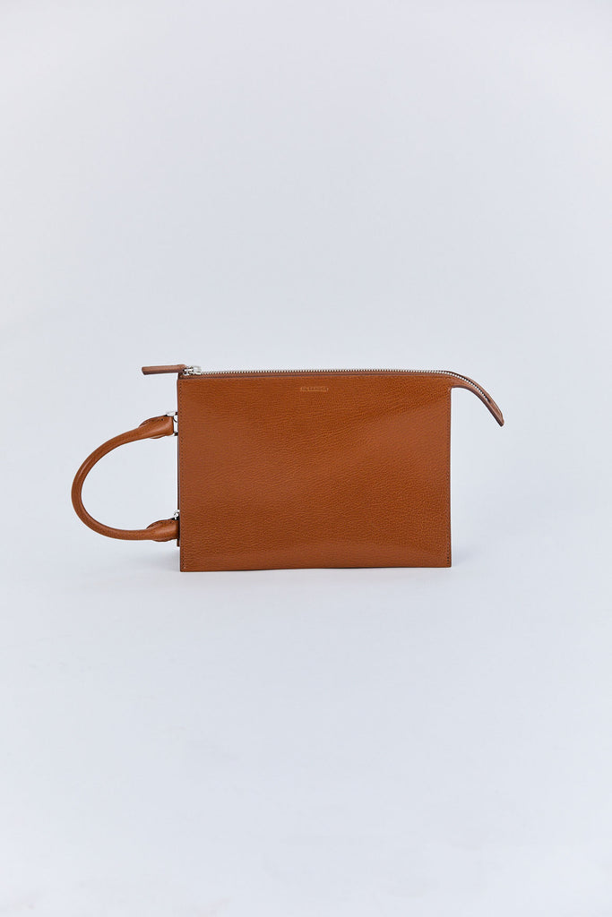 Jil Sander - Tootie Small Leather Bag, Brown