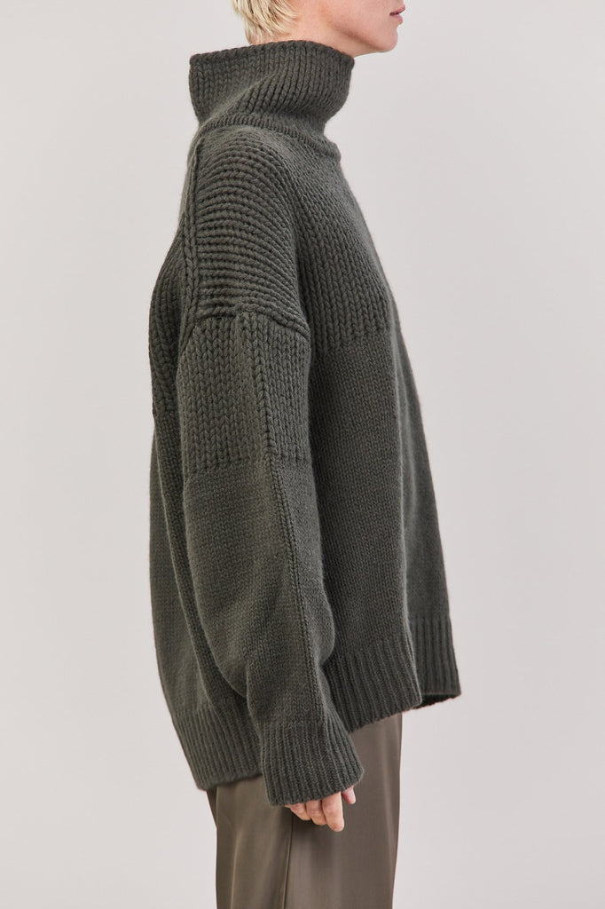 Jil Sander - Jil Sander Turtleneck Sweater, Dark Green