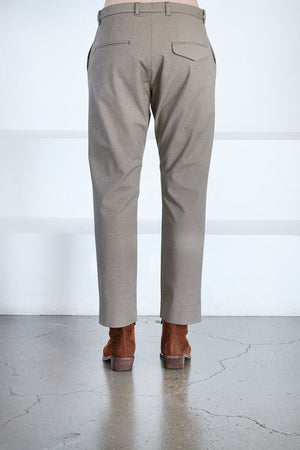 Hope - krissy edit trousers, brown check