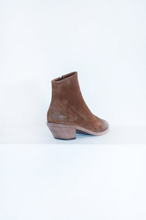 Marsèll - STUZZICHELLO TRONCHETTO ZIP BOOT, brown