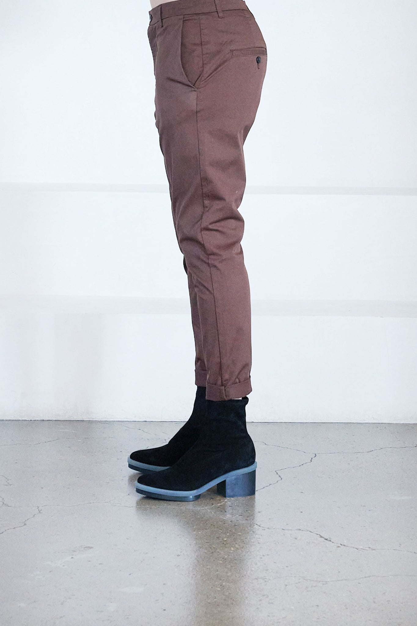 Hope - news edit trousers, brown