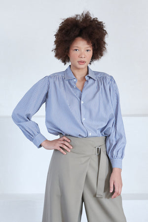 Hope - lush shirt, grey stripe