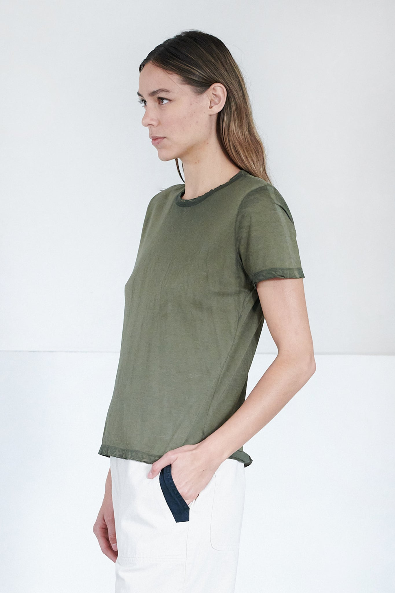 Cotton Citizen - standard tee, avocado