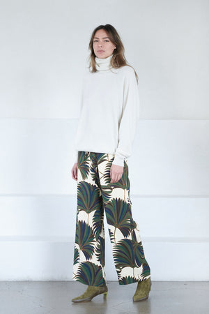 DRIES VAN NOTEN - PUVIS pant, bottle