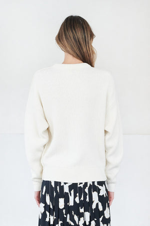 Apiece Apart - finsen knit, cream