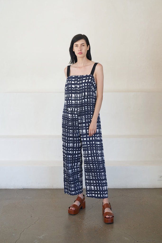camber jumpsuit, navy