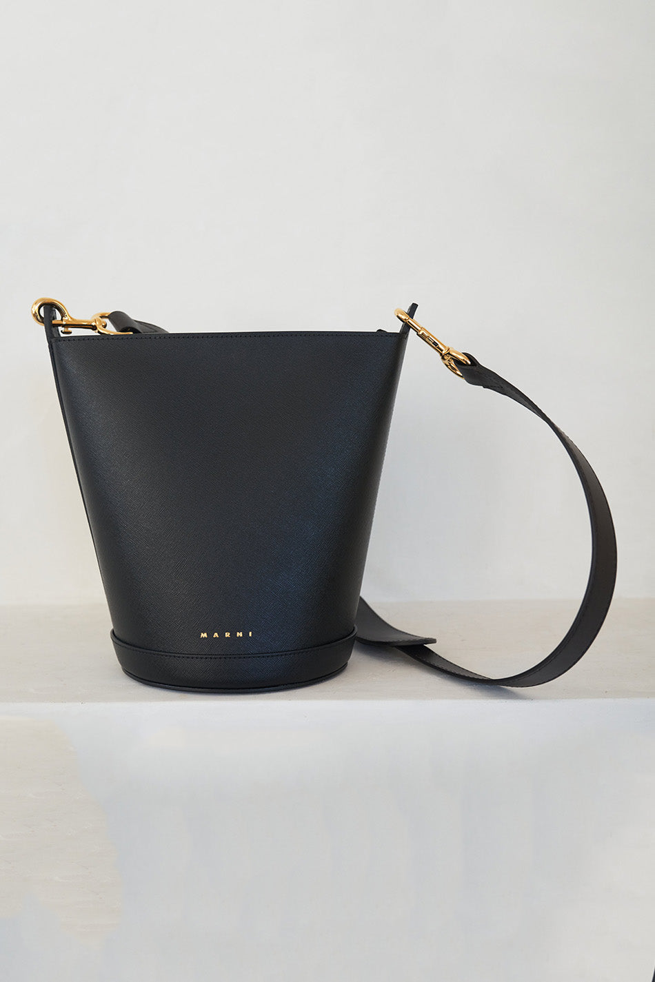 MARNI - depot bucket bag, black