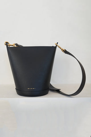 depot bucket bag, black