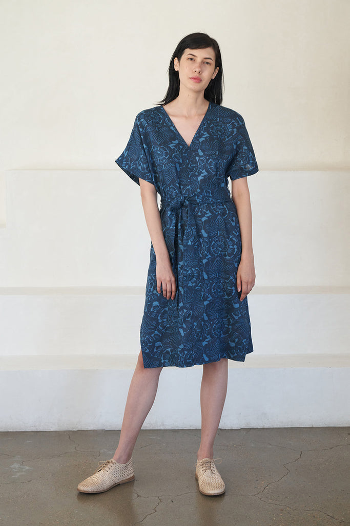 Apiece Apart - vidova tunic dress, blue