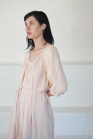 matira dress, blush