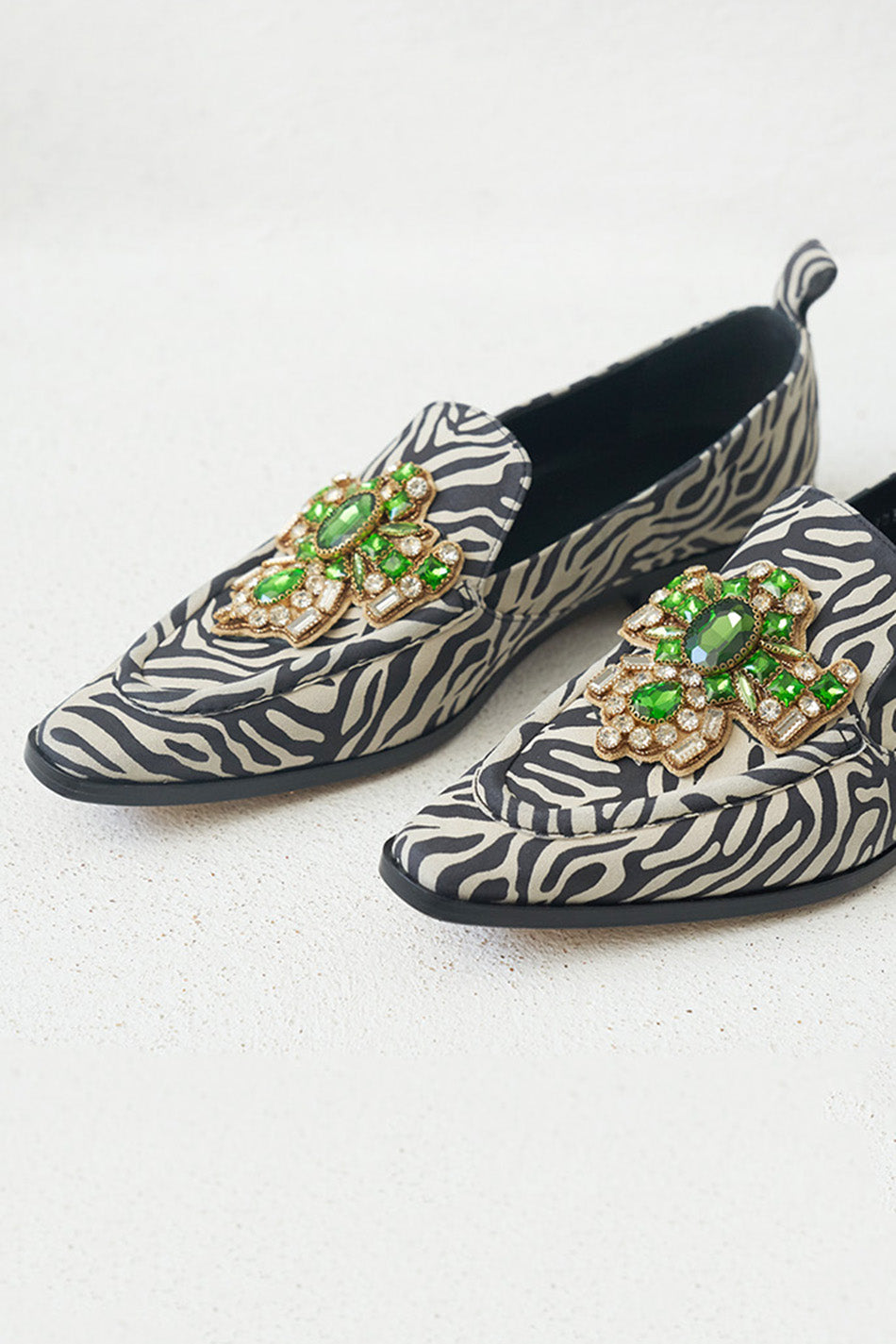 DRIES VAN NOTEN - jeweled loafer