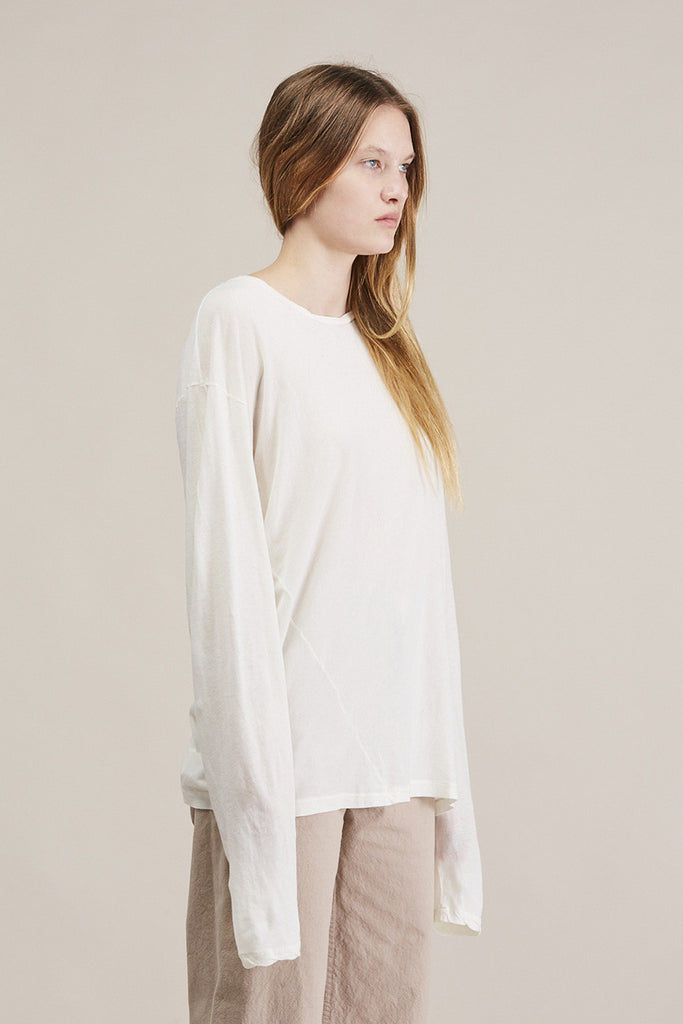 Vellum long tee by Lauren Manoogian @ Kick Pleat - 3