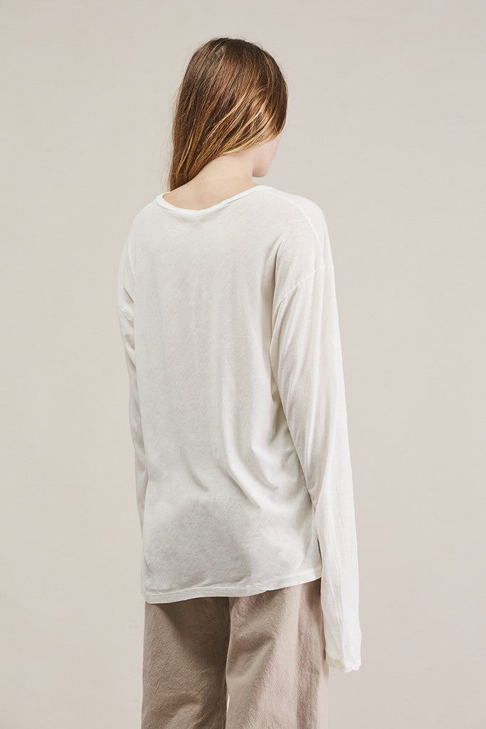 Vellum long tee by Lauren Manoogian @ Kick Pleat - 5