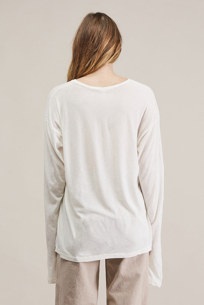 Vellum long tee by Lauren Manoogian @ Kick Pleat - 6