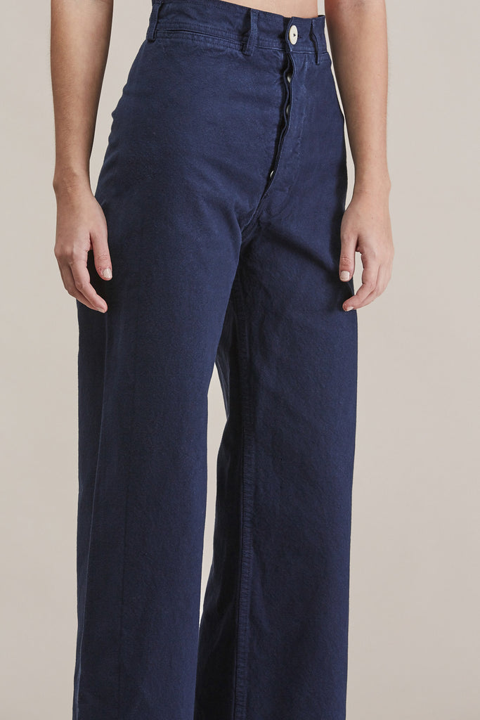 Sailor pant, Midnight by Jesse Kamm @ Kick Pleat - 7