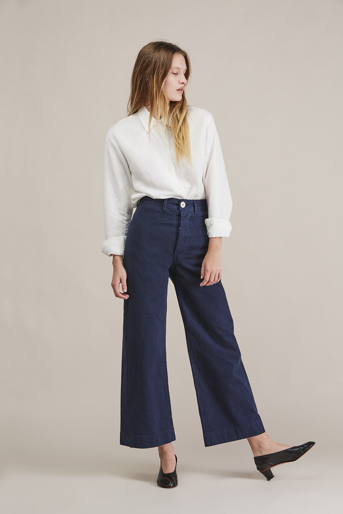 Sailor pant, Midnight by Jesse Kamm @ Kick Pleat - 2