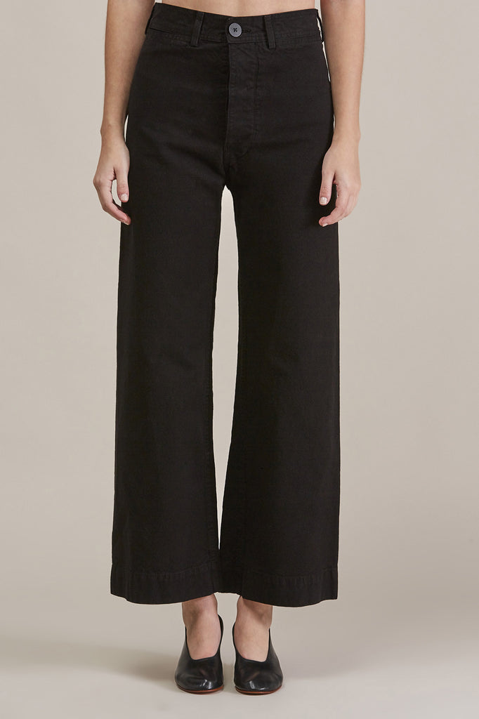 Sailor Pant, Black by Jesse Kamm @ Kick Pleat - 1